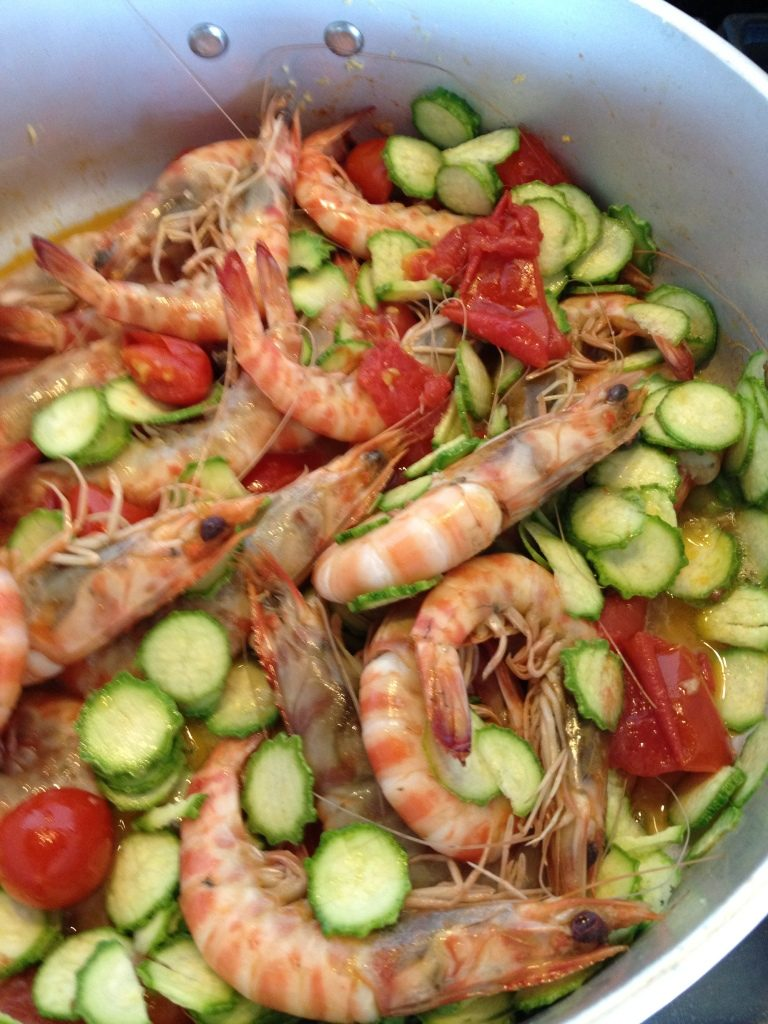 Linguine with Shrimp, Tomato and Zucchini.jpg