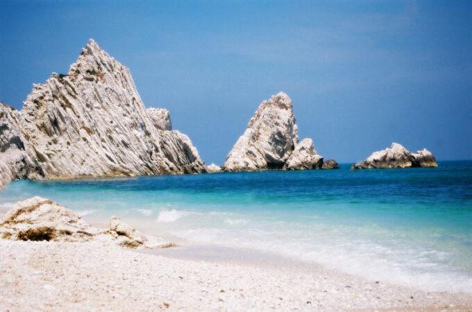 The Adriatic coast is splendid especially in the Portonovo area